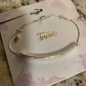 Best friend bracelet.